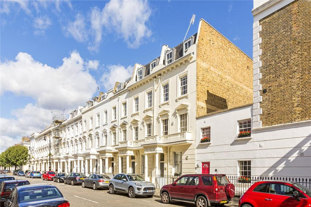 2 Bedrooms Flat for sale in Alderney Street, London, SW1V