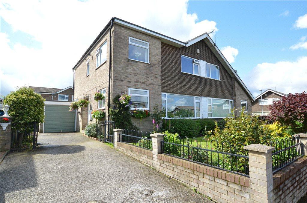 4 Bedrooms Semi Detached House for sale in Moorside Avenue, Drighlington, Bradford