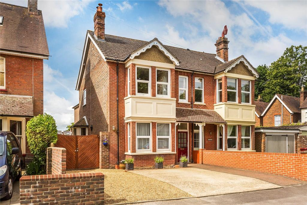 4 Bedrooms Semi Detached House for sale in Vanzell Road, Easebourne, Midhurst, West Sussex