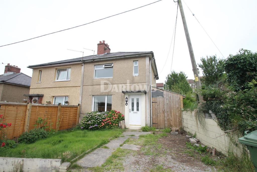 3 Bedrooms Semi Detached House for sale in Oakland Crescent, Cilfynydd