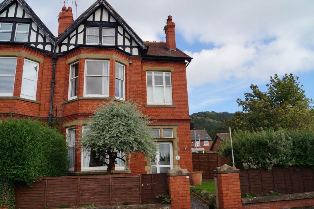 6 Bedrooms Semi Detached House for sale in 13 Harcourt Road, Llandudno, LL30 1TU