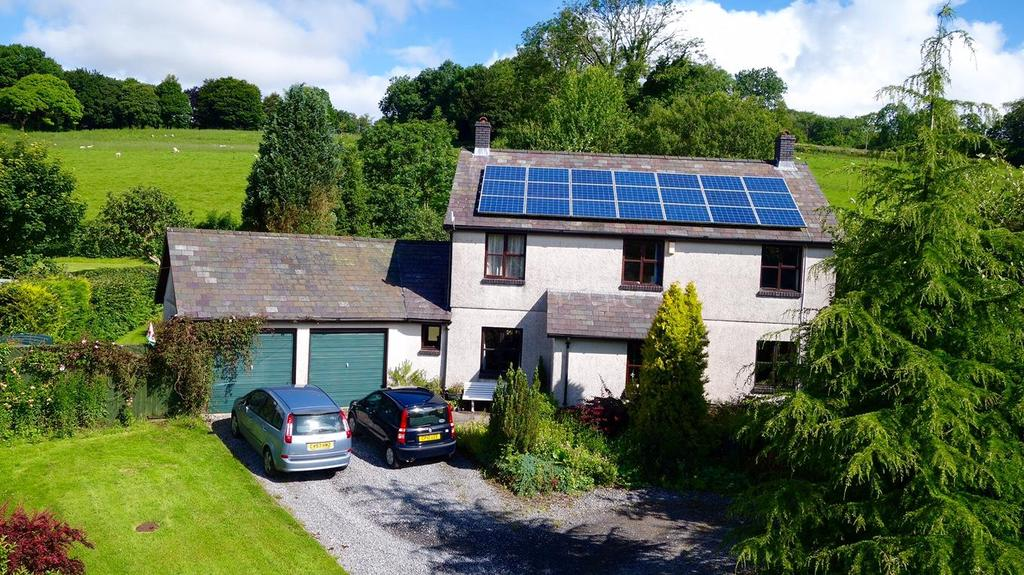 4 Bedrooms Detached House for sale in Trapp, Llandeilo