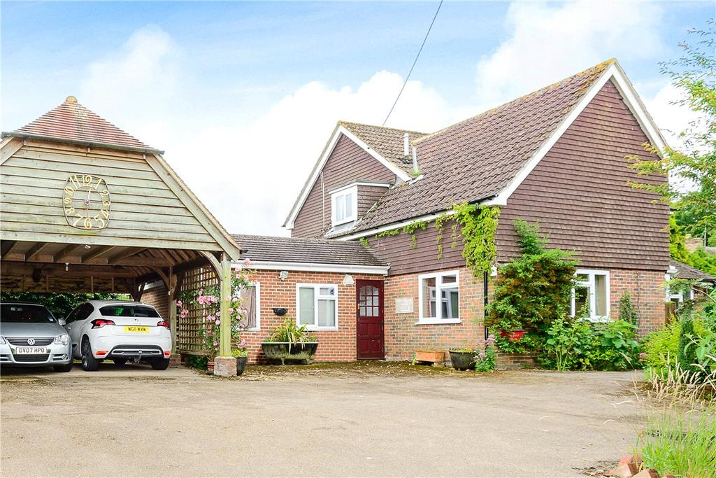 4 Bedrooms Detached House for sale in Winchester Road, King's Somborne, Stockbridge, Hampshire, SO20
