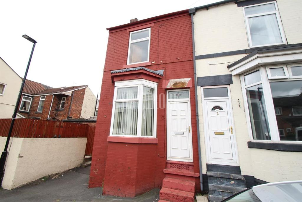 2 Bedrooms End Of Terrace House for sale in Hampden Road, Mexborough