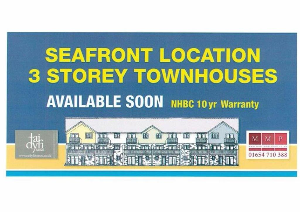 3 Bedrooms Town House for sale in New Seafront Town Houses, Marine Parade, Tywyn, Gwynedd, LL36