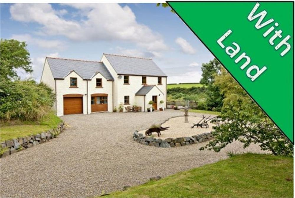 4 Bedrooms Detached House for sale in Thornhill, Westfield Mill, Rosemarket, MILFORD HAVEN, Pembrokeshire