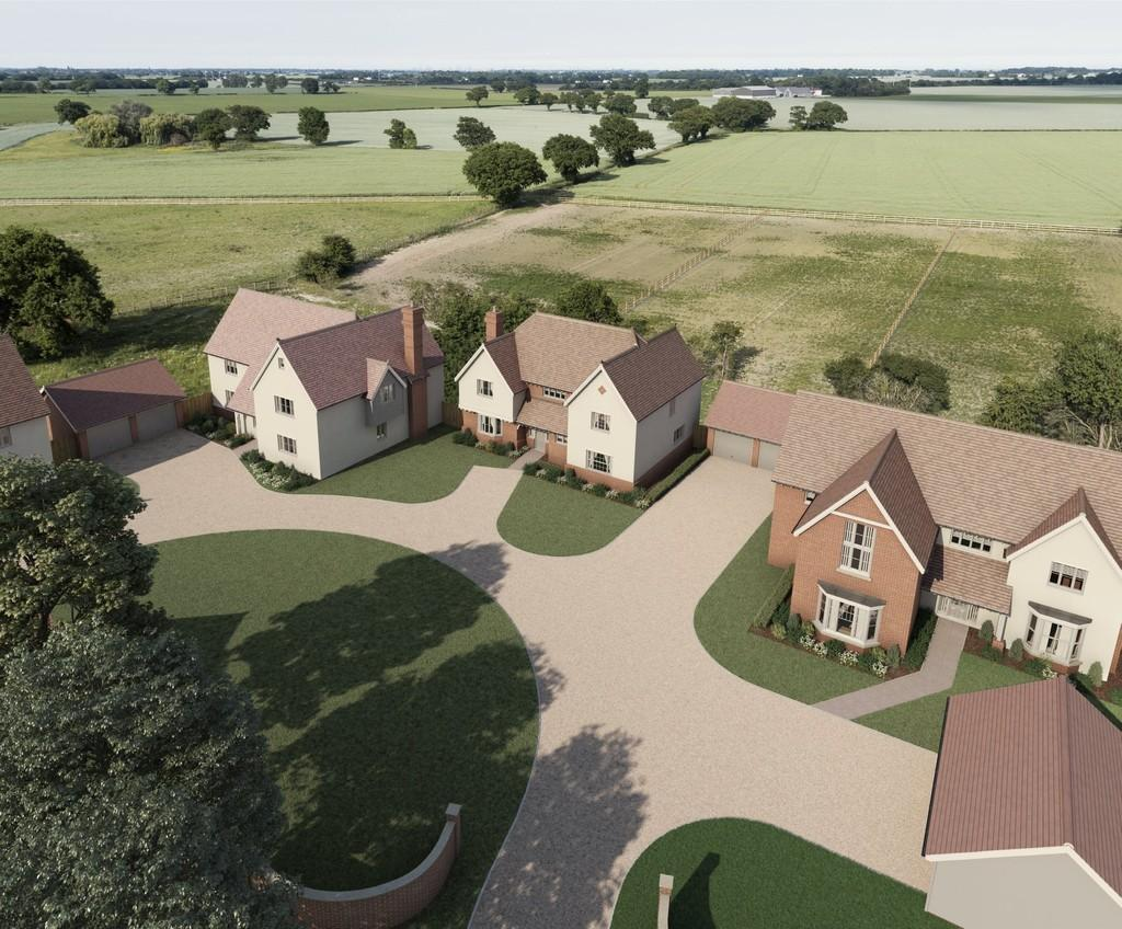 5 Bedrooms Detached House for sale in Plot 2, Glebe Farm Place, Tendring Green