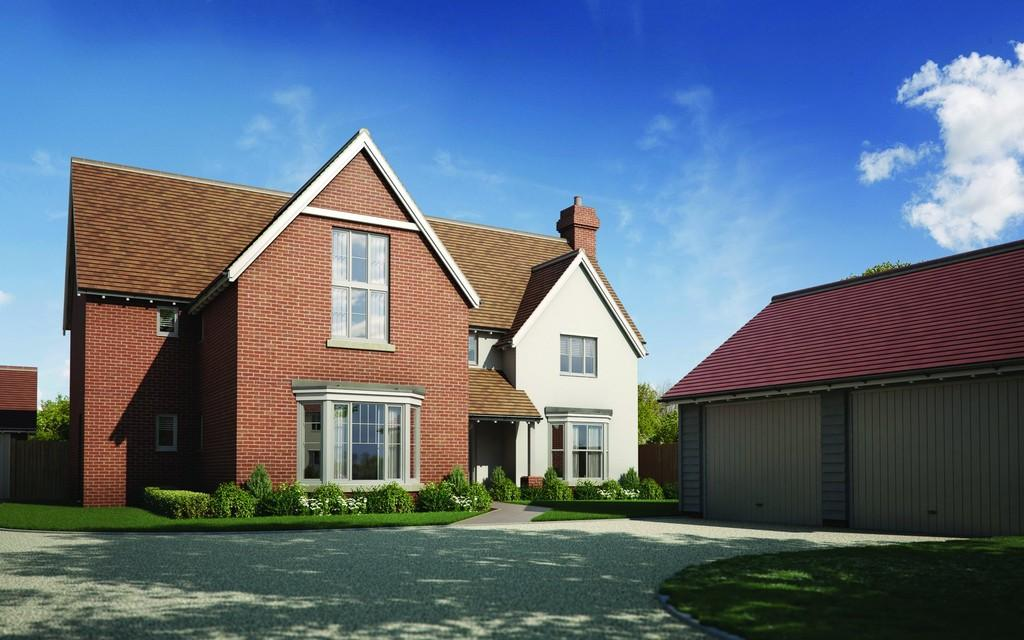 5 Bedrooms Detached House for sale in Plot 4, Glebe Farm Place, Tendring Green