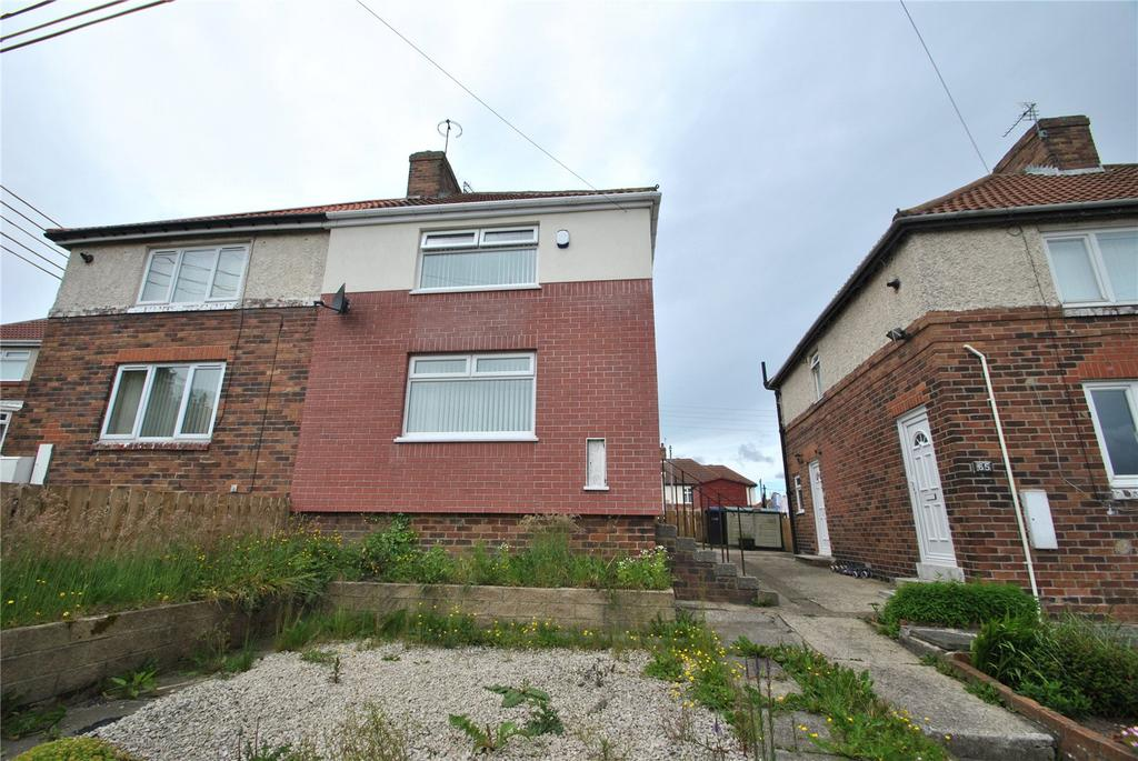 2 Bedrooms Semi Detached House for sale in Calvert Terrace, Murton, Seaham, Co. Durham, SR7