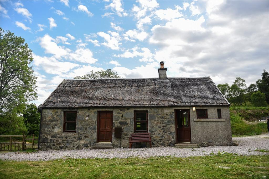 1 Bedroom Detached Bungalow for sale in Cottage and Land At Ardteatle, Dalmally, Argyll and Bute, PA33
