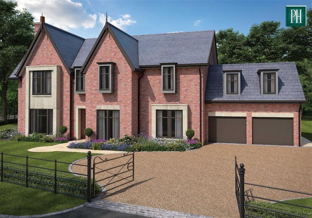 5 Bedrooms Detached House for sale in The Woodlands Plot 1, Bollington Lane, Nether Alderley