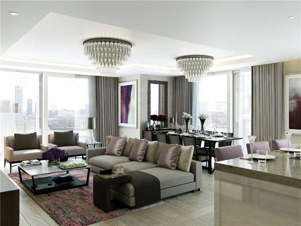 3 Bedrooms Flat for sale in Milford House, 190 Strand, London, WC2R