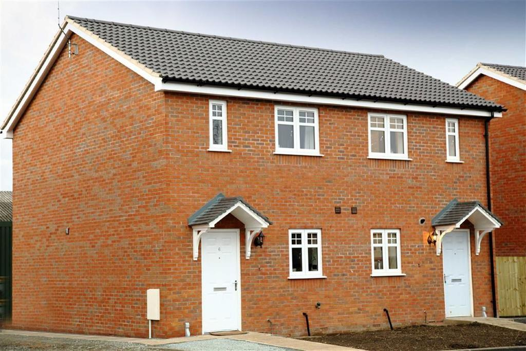 2 Bedrooms Semi Detached House for sale in Brookfield Rise, Penley, LL13