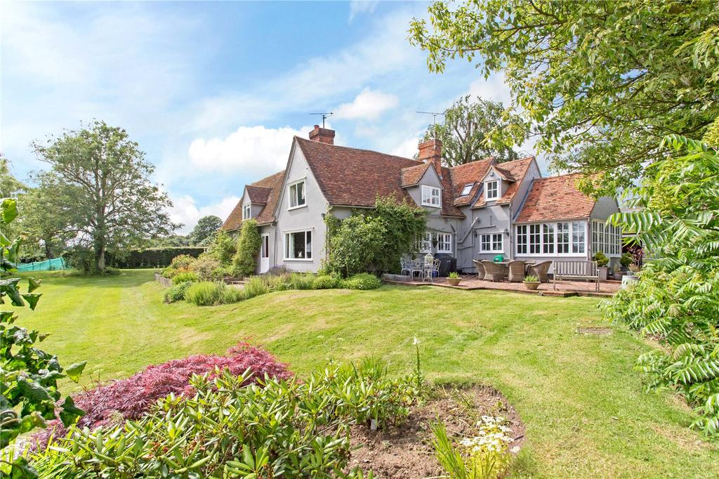 4 Bedrooms Detached House for sale in Dunmow Road, Great Easton, Dunmow, Essex, CM6