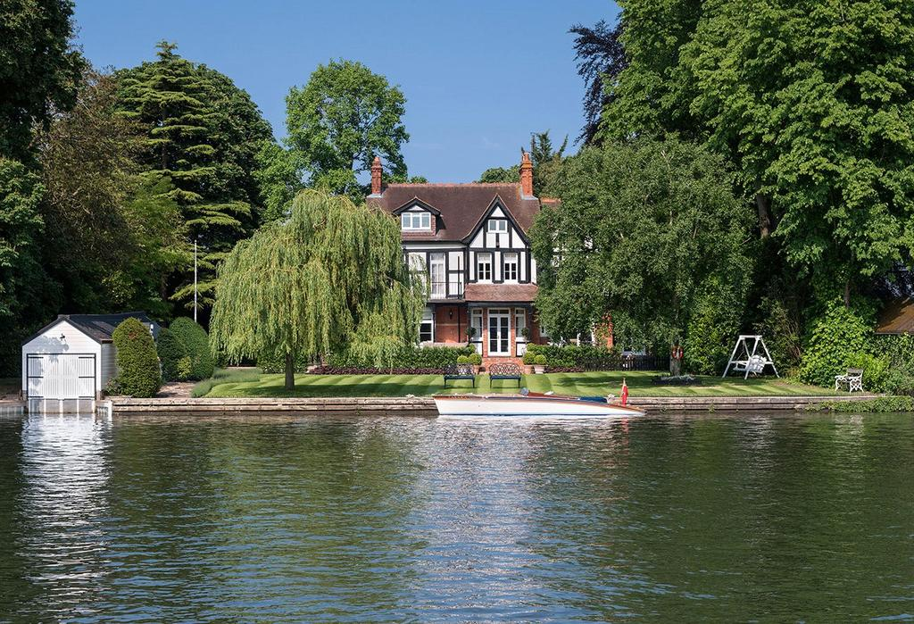 6 Bedrooms Detached House for sale in Riversdale, Bourne End, Buckinghamshire, SL8