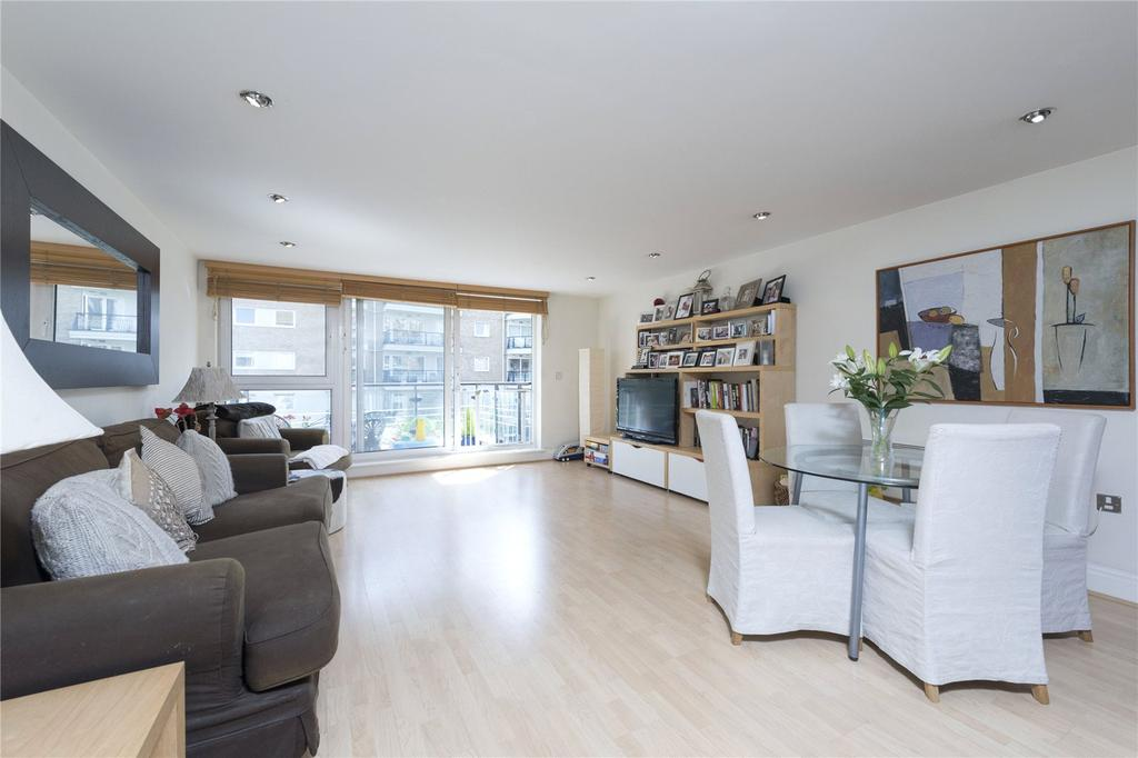 2 Bedrooms Flat for sale in Anchor House, Riverside West, Wandsworth, London, SW18