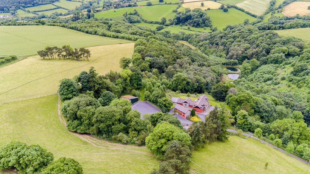 4 Bedrooms Detached House for sale in Hopton Castle, Craven Arms, Shropshire
