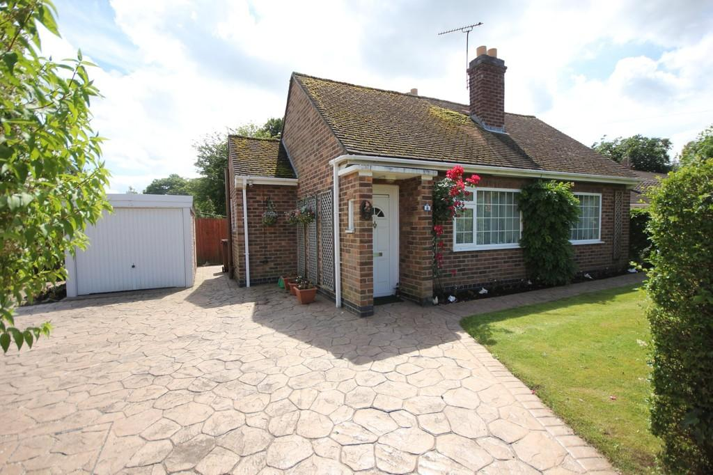 2 Bedrooms Detached Bungalow for sale in Shepherds Close, Loughborough