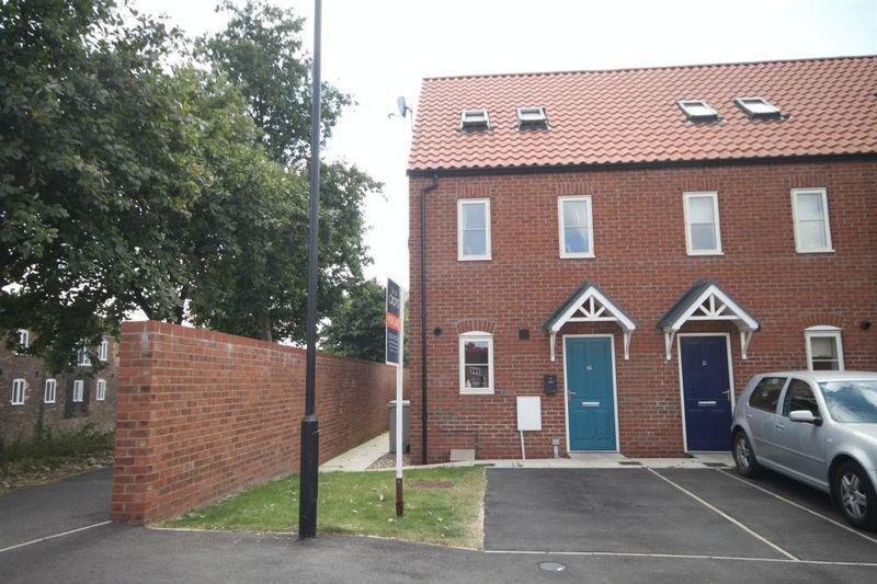3 Bedrooms End Of Terrace House for sale in CANAL CLOSE, LOUTH
