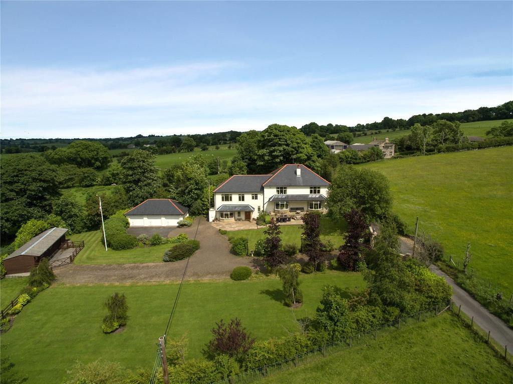 5 Bedrooms Detached House for sale in Stopper Lane, Rimington, Clitheroe, Lancashire, BB7