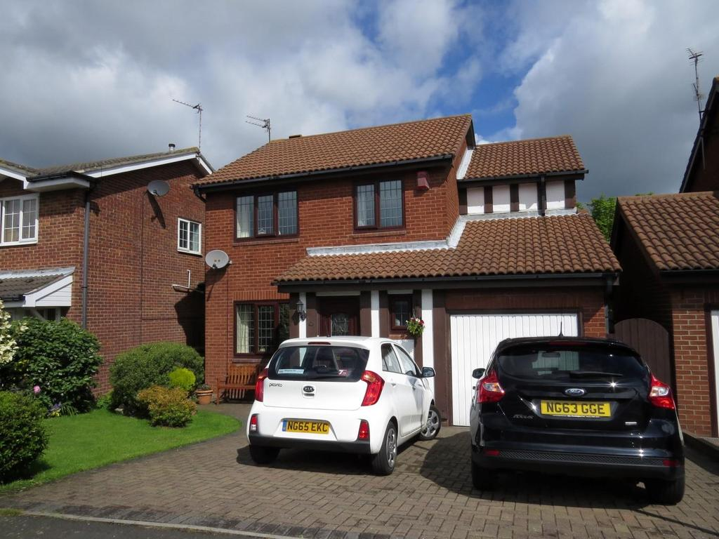 4 Bedrooms Detached House for sale in Mitchell Drive, Milburn Park, Ashington