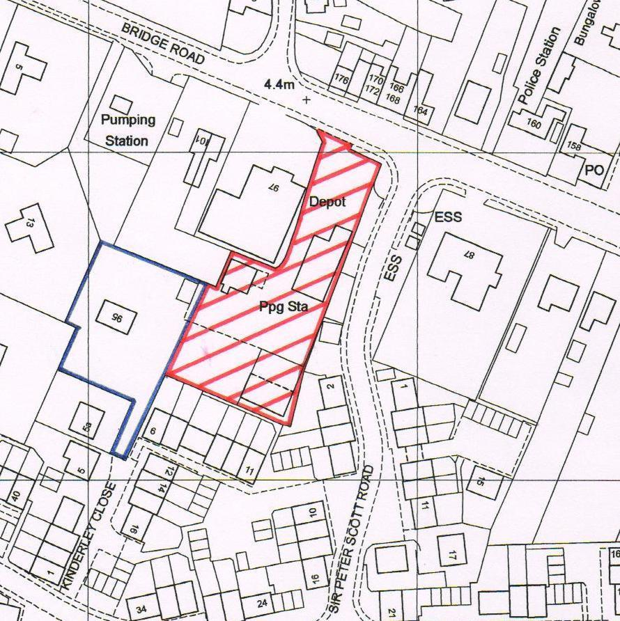 Plot Commercial for sale in Bridge Road, Sutton Bridge.