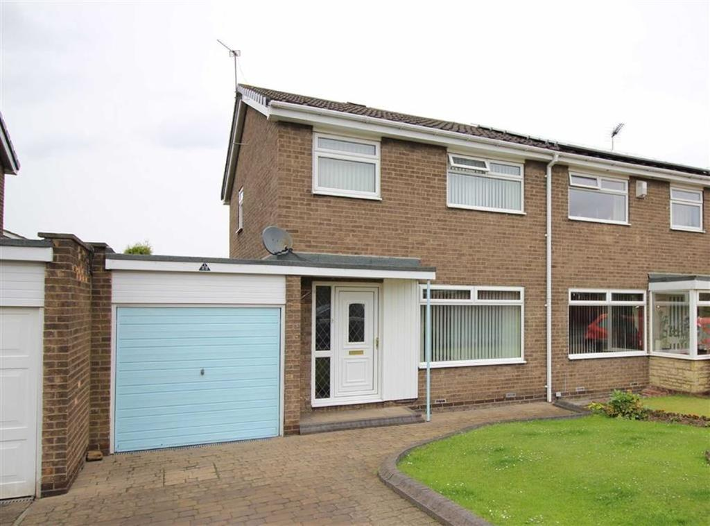3 Bedrooms Semi Detached House for sale in Melness Road, Newcastle Upon Tyne, NE13