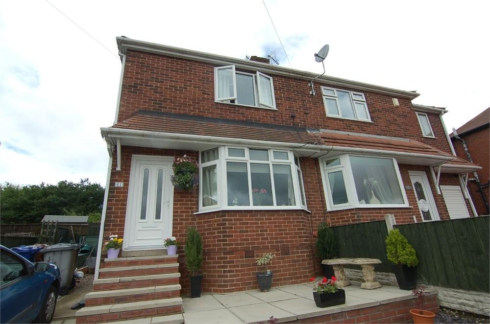 2 Bedrooms Semi Detached House for sale in Aldham Crescent, Wombwell, BARNSLEY, South Yorkshire