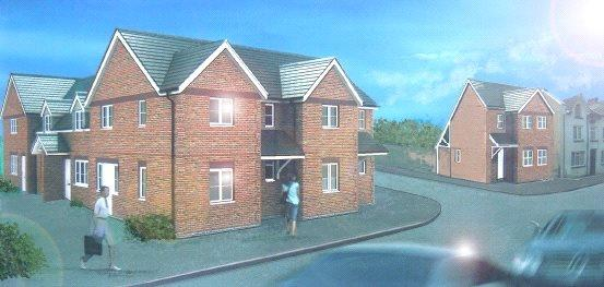 2 Bedrooms End Of Terrace House for sale in Housing Development, Brecon Road, Builth Wells, Powys