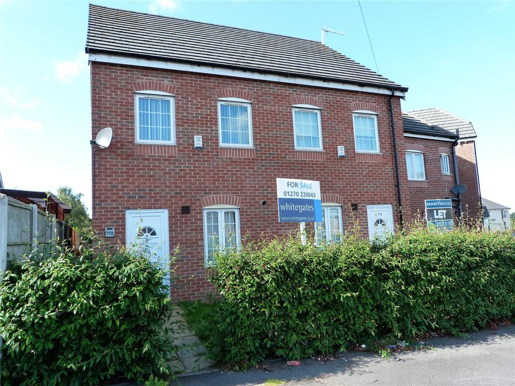 2 Bedrooms Semi Detached House for sale in Minshull New Road, Crewe, Cheshire, CW1