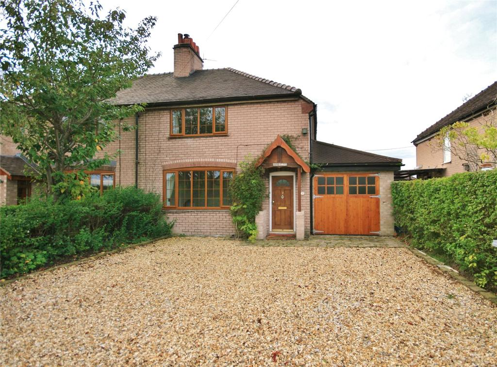 3 Bedrooms Semi Detached House for sale in Brookhouse Lane, Minshull Vernon, Middlewich, Cheshire, CW10