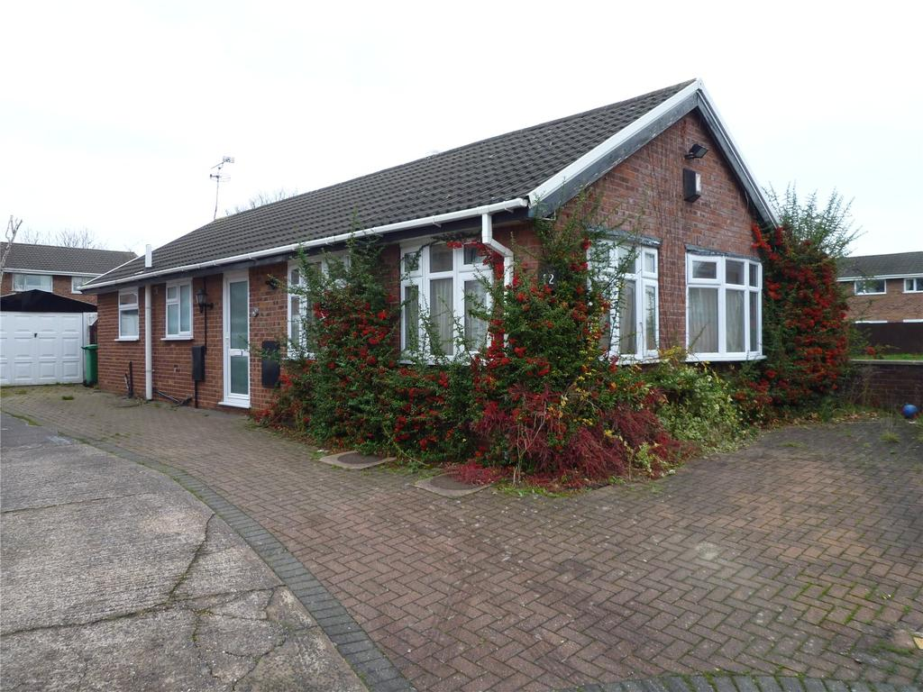 2 Bedrooms Detached Bungalow for sale in Canford Close, Leighton, Crewe, Cheshire, CW1