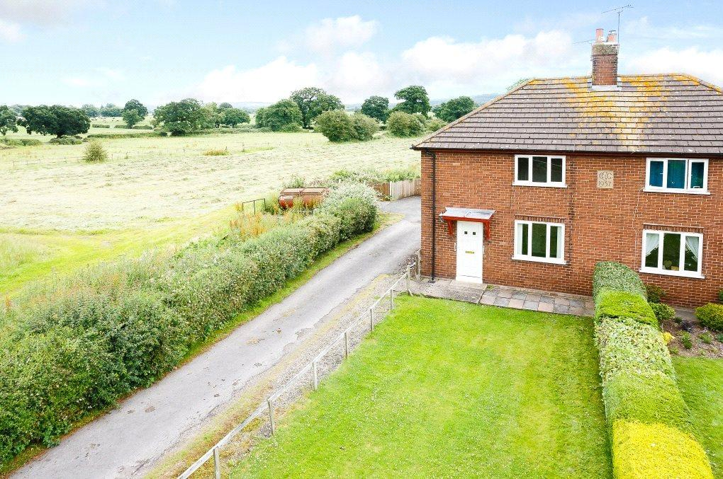 3 Bedrooms Semi Detached House for sale in Tarporley Road, Tarvin, Chester
