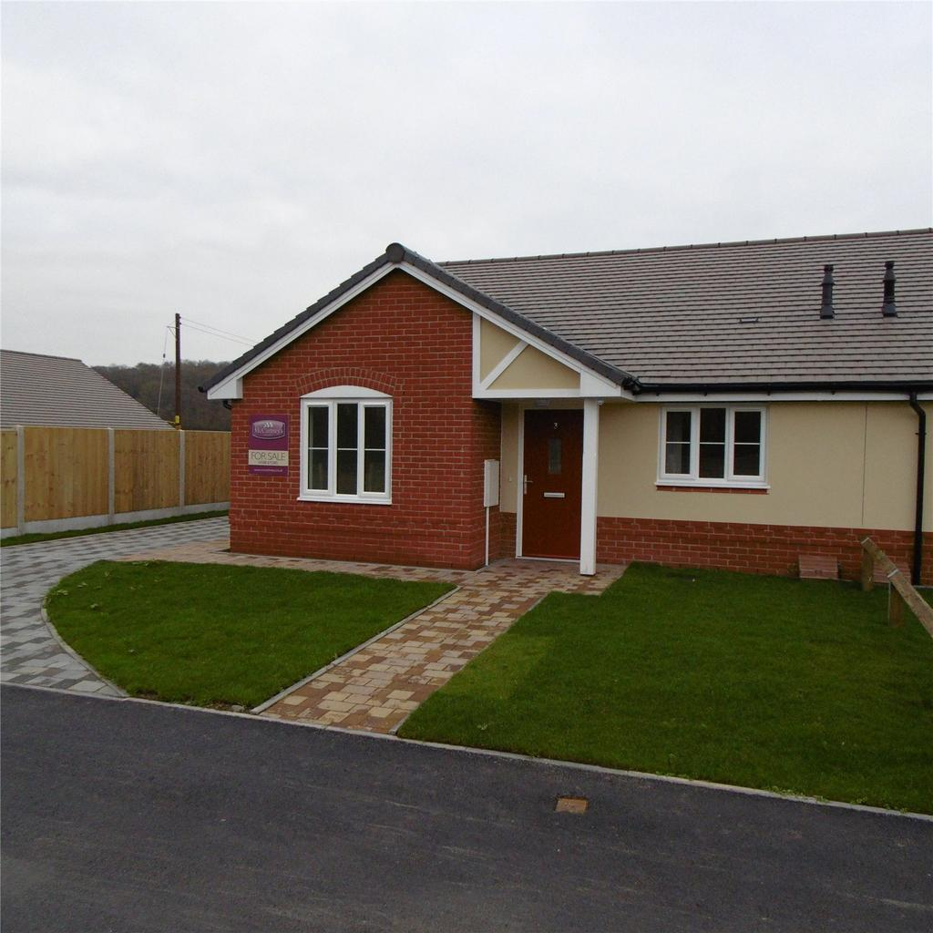 2 Bedrooms Semi Detached Bungalow for sale in Carwood Way, Watling Street, Craven Arms, Shropshire