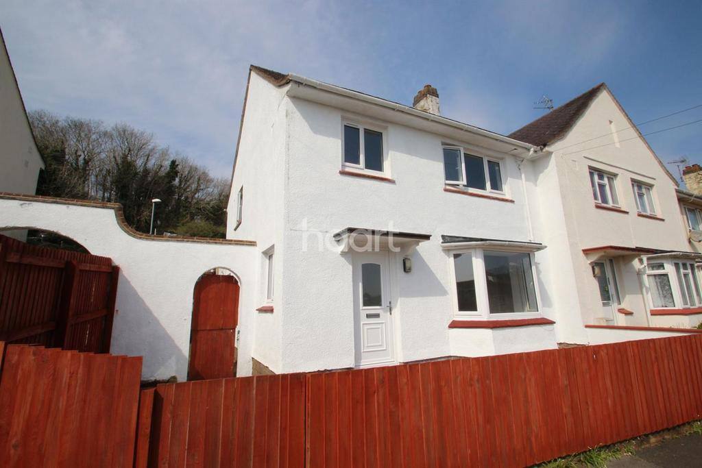 3 Bedrooms End Of Terrace House for sale in Willow Avenue, Torquay