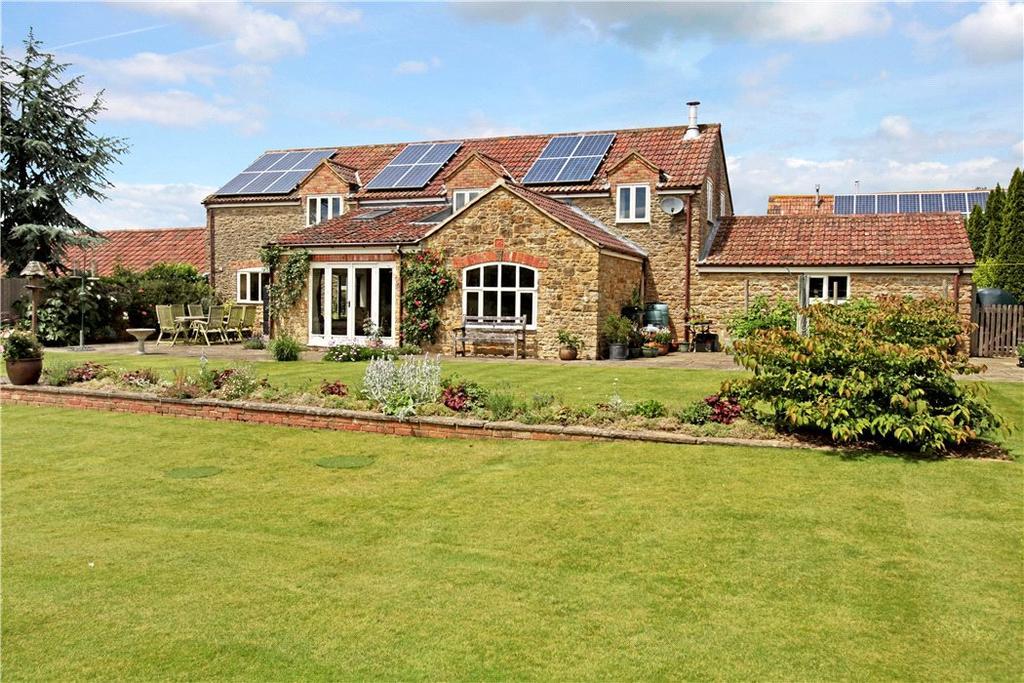 4 Bedrooms Semi Detached House for sale in Woolston, North Cadbury, Yeovil, Somerset, BA22