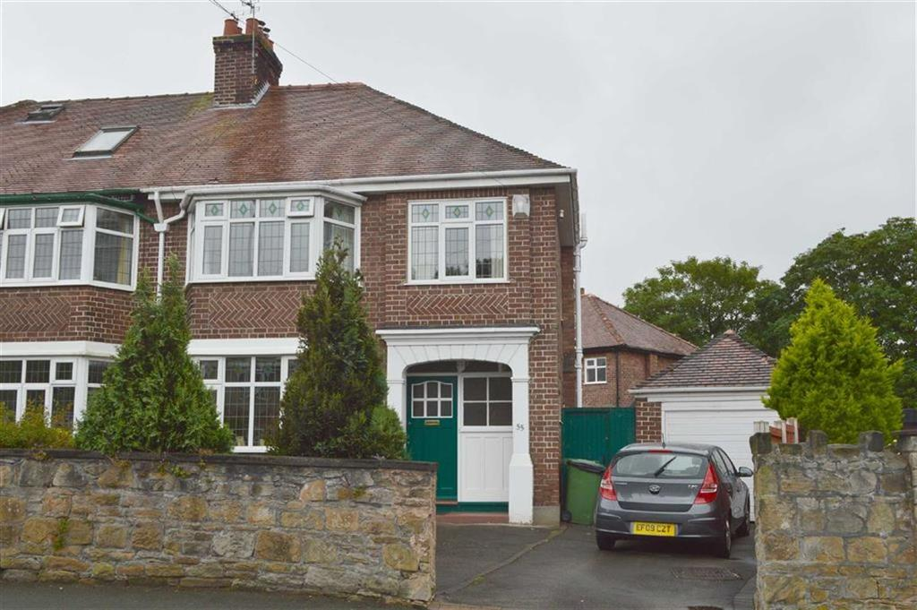 3 Bedrooms Semi Detached House for sale in Egerton Road, Claughton, CH43