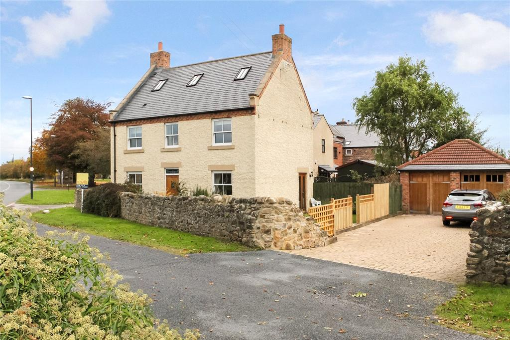 4 Bedrooms Semi Detached House for sale in The Green, Stapleton, Darlington, County Durham, DL2