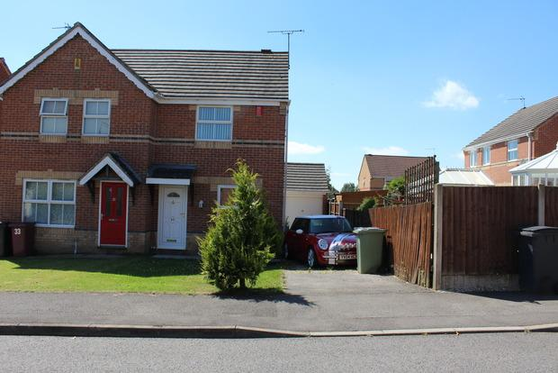 2 Bedrooms Semi Detached House for sale in Terrace Lane, Pleasley, Mansfield, NG19