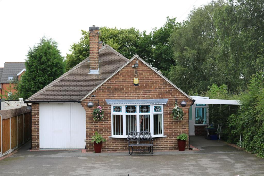 3 Bedrooms Detached Bungalow for sale in Burton Road, Woodville, Swadlincote