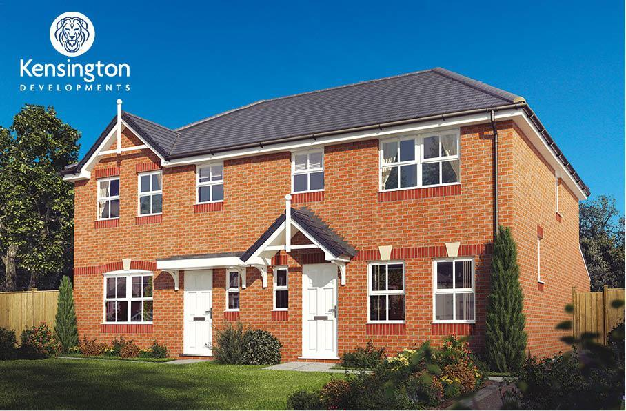 3 Bedrooms Semi Detached House for sale in The Charleston, Magnolia Point, Midgeland Road, Marton Moss