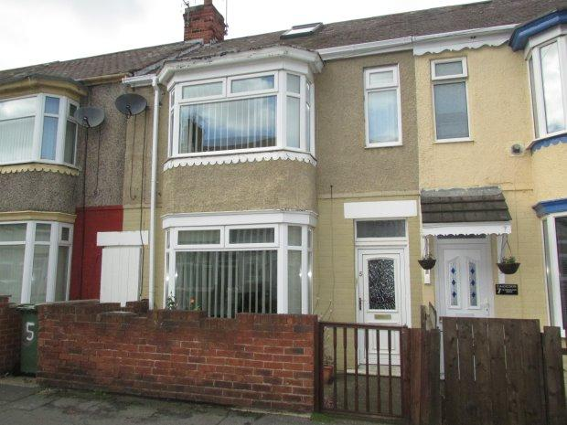 2 Bedrooms Terraced House for sale in LEAMINGTON DRIVE, OXFORD ROAD, HARTLEPOOL