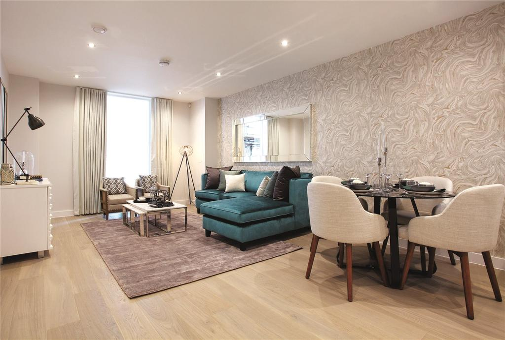 1 Bedroom Flat for sale in Charters Wharf, Norman Road, Greenwich, London, SE10