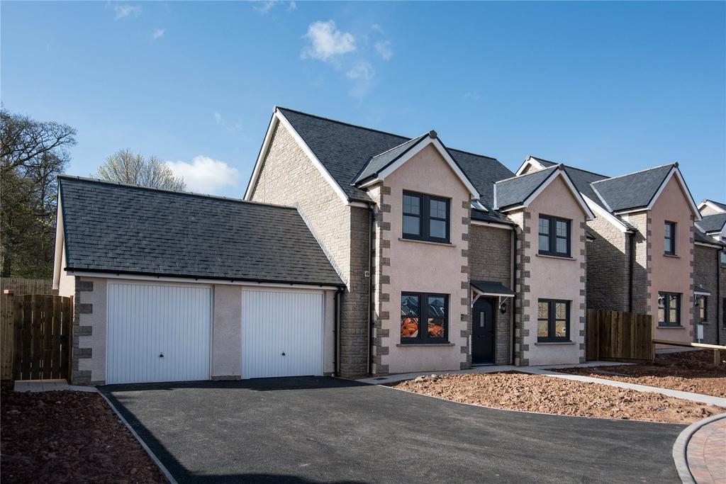 4 Bedrooms Detached House for sale in Peelwalls Meadow, Ayton, Berwickshire, Scottish Borders