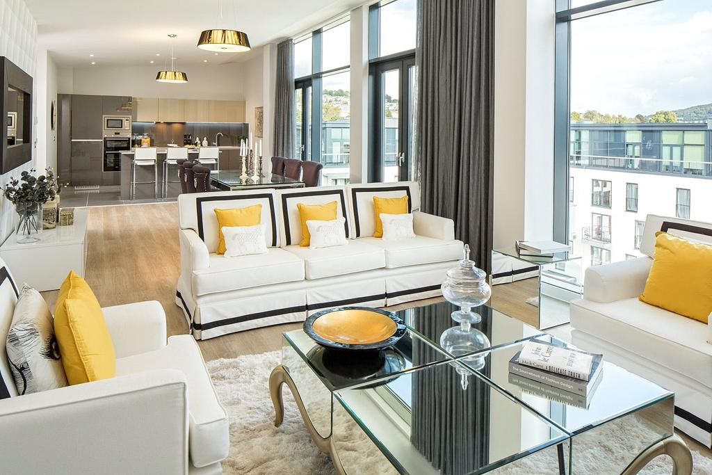 2 Bedrooms Penthouse Flat for sale in Leopold House, Bath Riverside, BA2