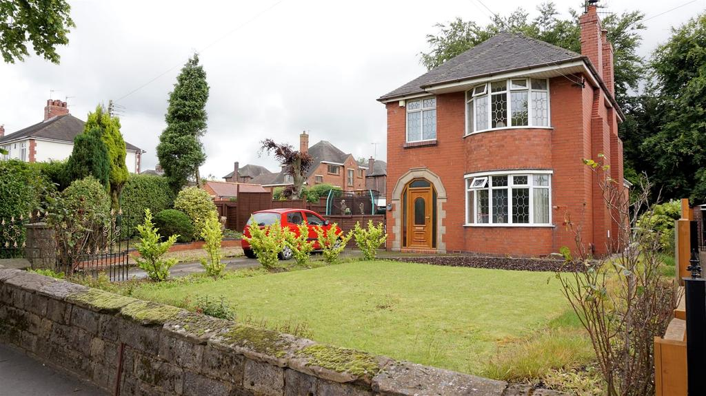3 Bedrooms Detached House for sale in Tunstall Road, Knypersley, Stoke-On-Trent