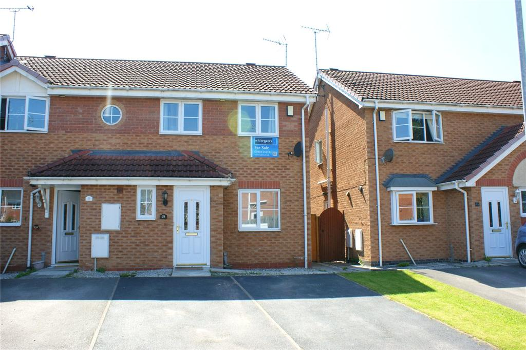 2 Bedrooms End Of Terrace House for sale in Solva Close, Abenbury, Wrexham, LL13