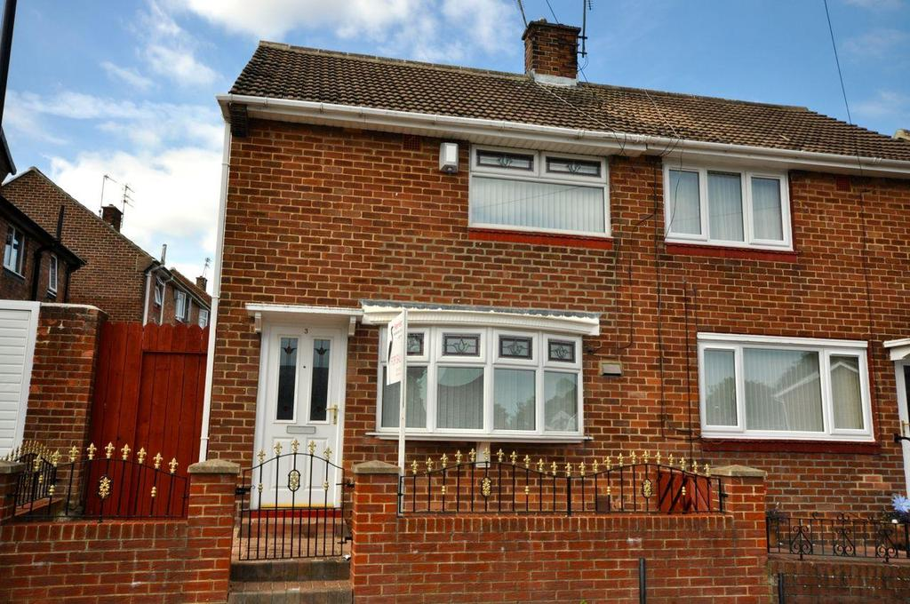 2 Bedrooms Semi Detached House for sale in Gilbert Road, Grindon, Sunderland