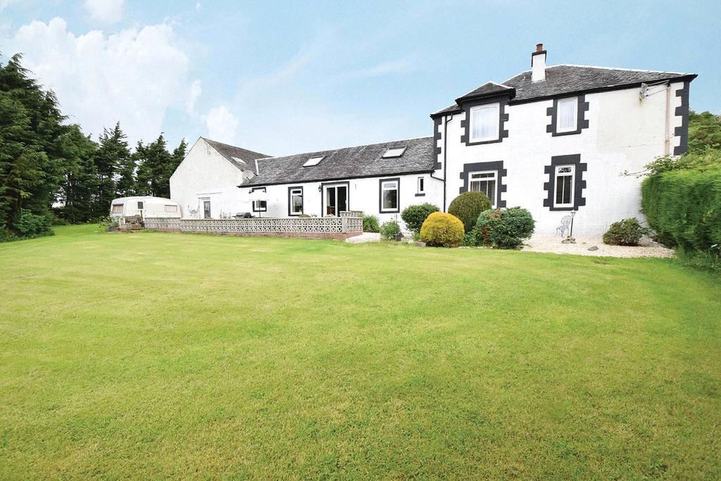 4 Bedrooms Equestrian Facility Character Property for sale in Barscube Farm, Langbank, Langbank, Renfrewshire