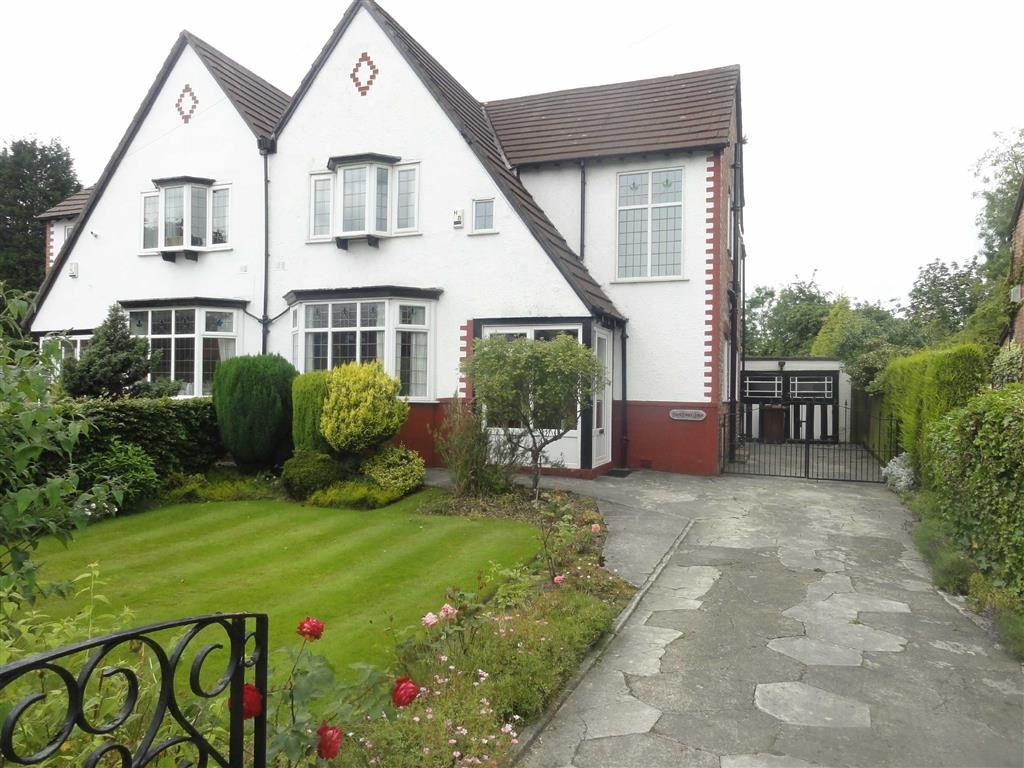 4 Bedrooms Semi Detached House for sale in Outwood Road, Heald Green